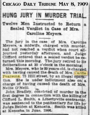 CarriePersonChiDailyTrib8May1909.png