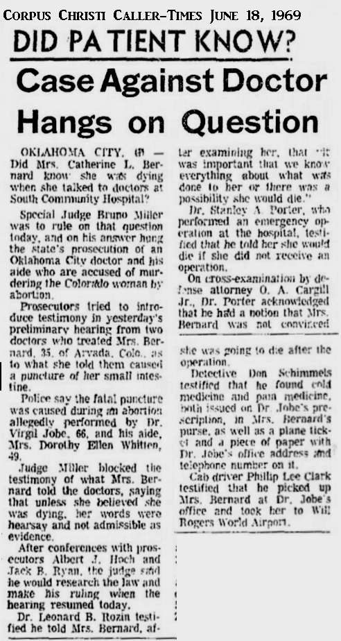 CatherineBarnardCOrpusChristiCallerTimes18June1969.png