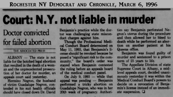 GuadalupeNegronRochesterDemocratAndChronicle6Mar1996.png