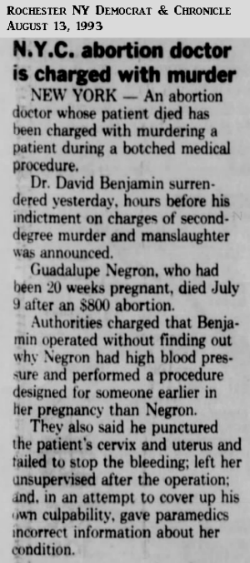 GuadalupeNegronRochesterNYDemocratAndChronicle13Aug1993.png