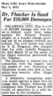 IsabelleFergusinMiamiOKDailyNewsRecord5May1932.png