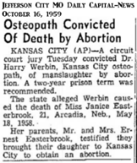 JaniceEasterbrookConvictedJeffersonCityMOTheDailyCapitalNews16Oct1959.png