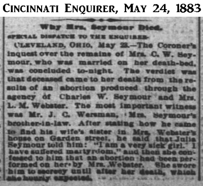 JuliaSeymourCincinnatiEnquirer24May1883.png