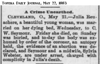JuliaSeymourUnearthedTopekaKSDailyCapital22May1883.png