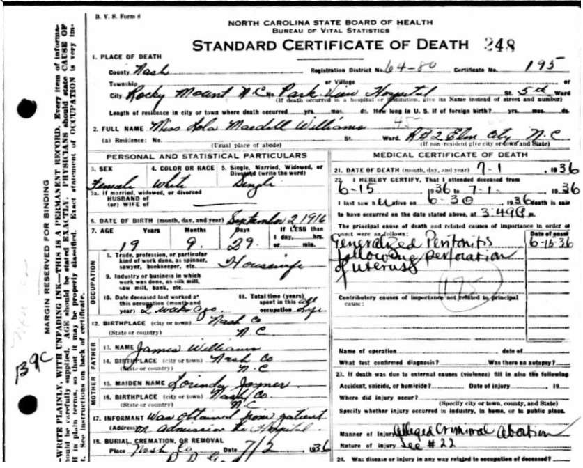 LolaMaedellWilliamsDeathCertificate.png