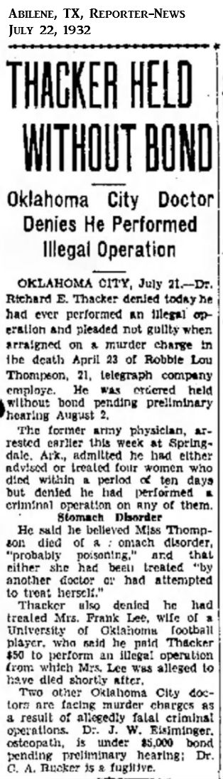 RobbieLouThompsonAbileneTXReporter-News22Jul1932.jpg