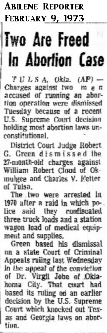 VirgilJobeFreedAbileneReporterNews9Feb1973.png